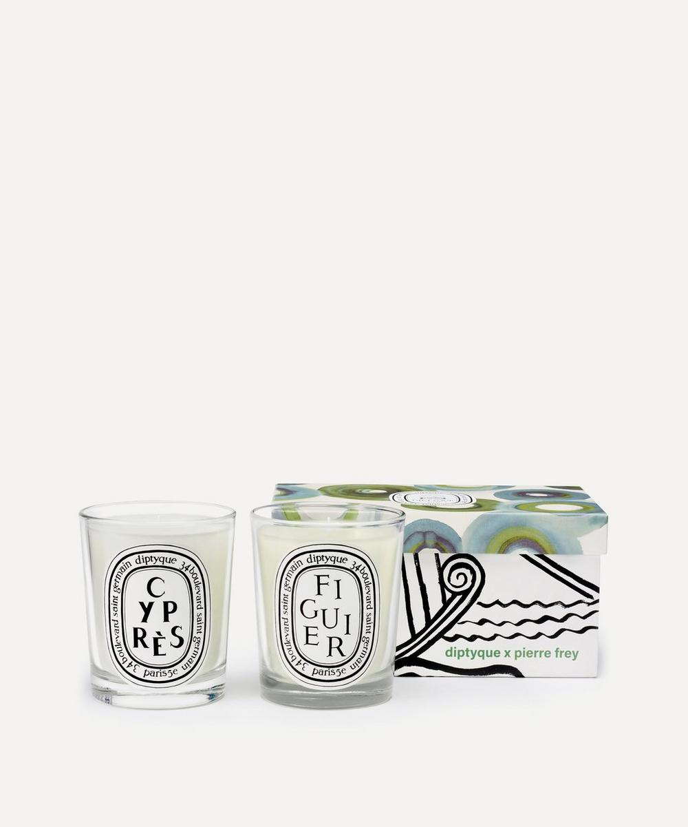 Diptyque - Figuier and Cypres Scented Candle Duo
