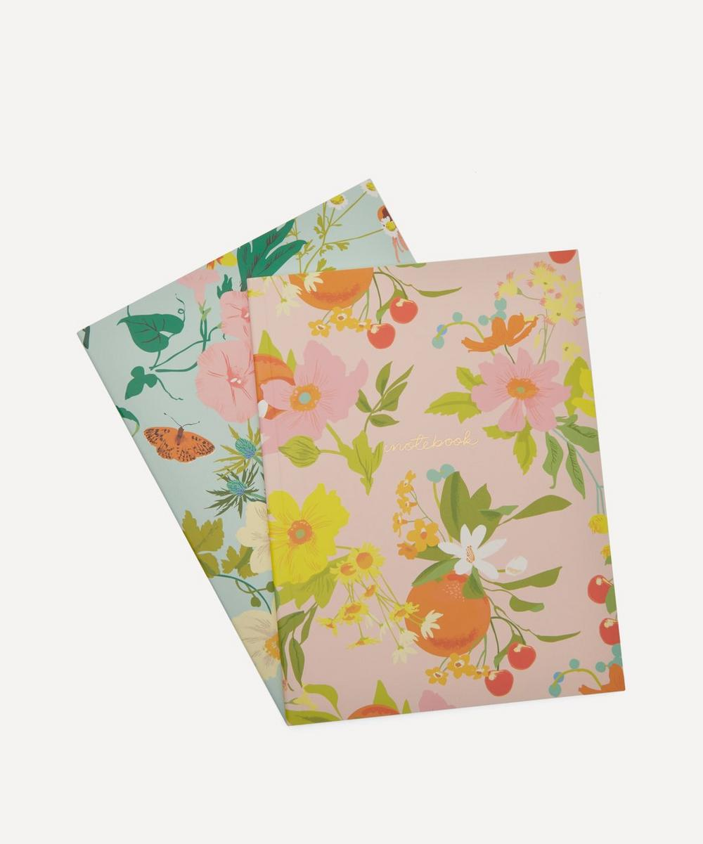 Noi - Flowers Notebooks Set of Two