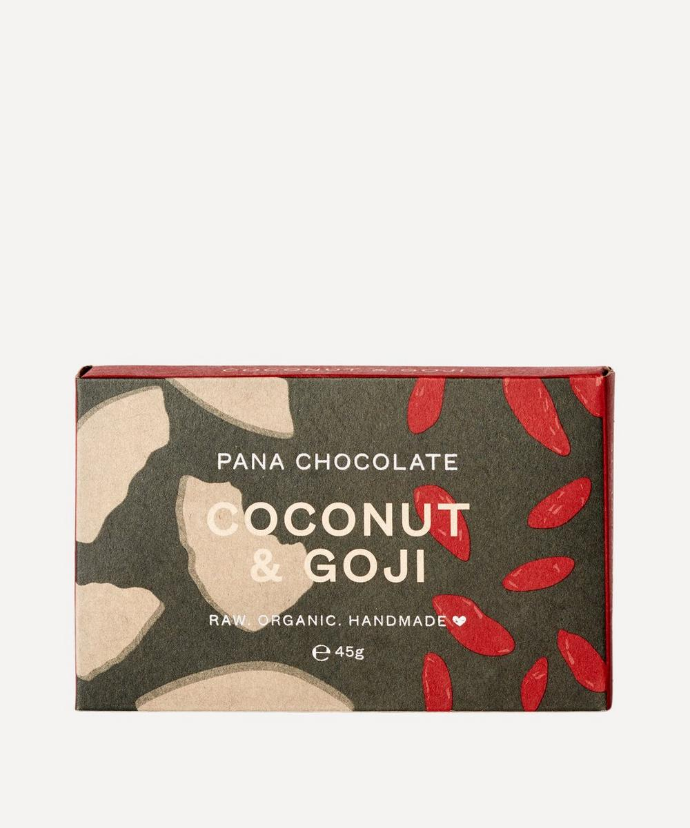 Pana Organic - Coconut and Goji Chocolate Bar 45g