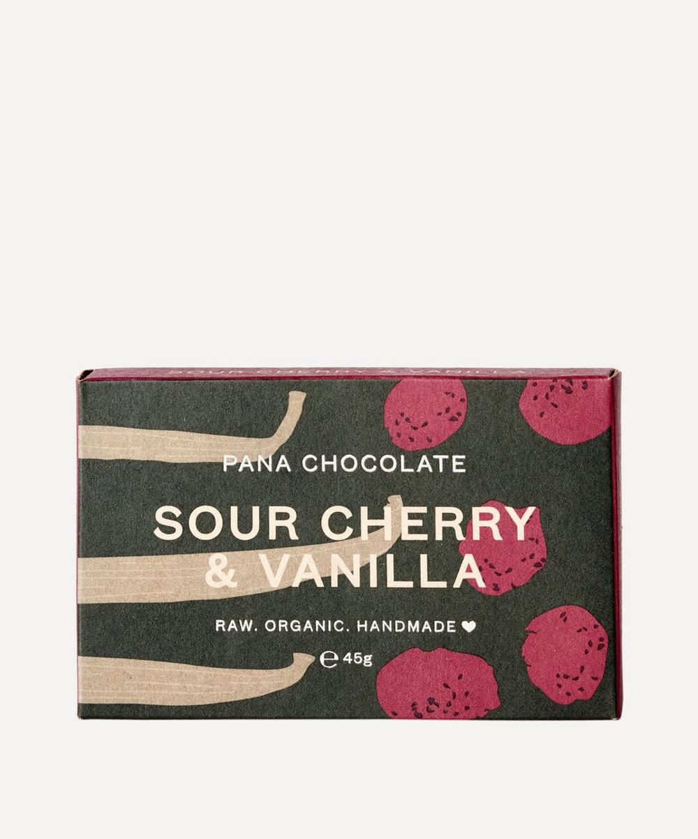 Pana Organic - Sour Cherry and Vanilla Chocolate Bar 45g