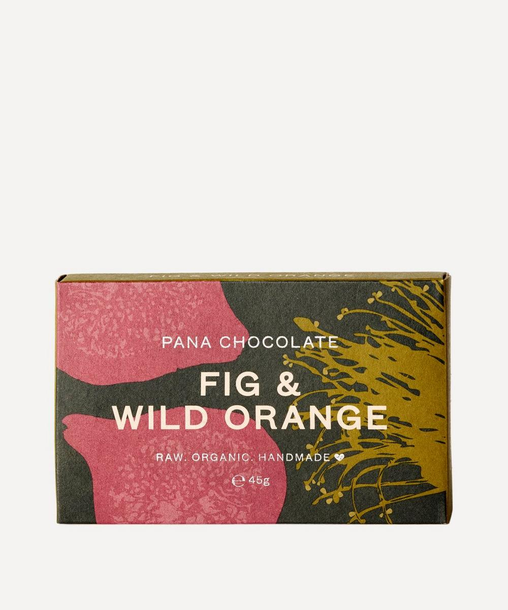 Pana Organic - Fig and Wild Orange Chocolate Bar 45g
