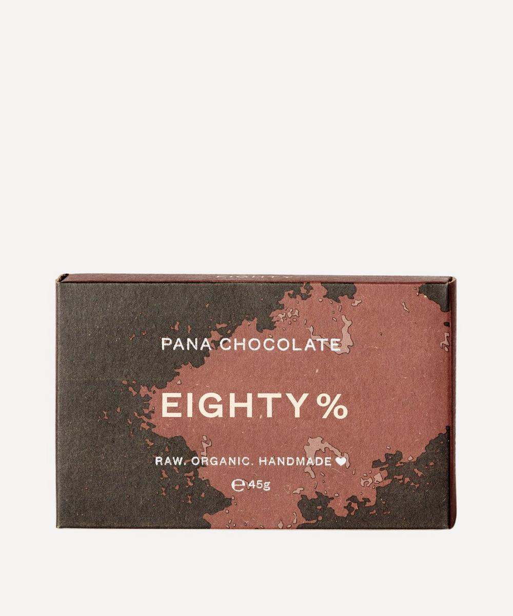 Pana Organic - 80% Raw Cacao Chocolate Bar 45g