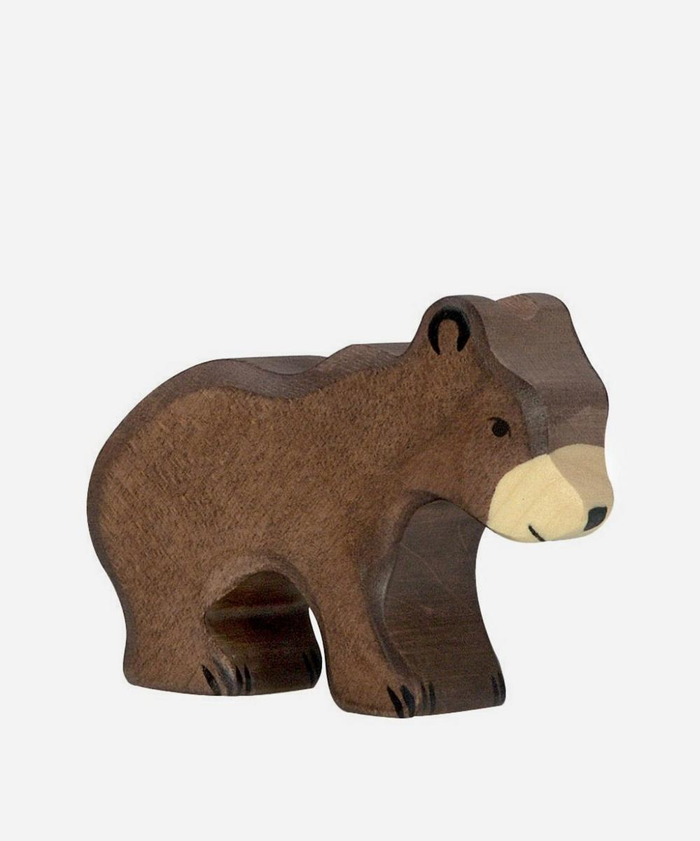 Holztiger - Small Brown Bear Toy