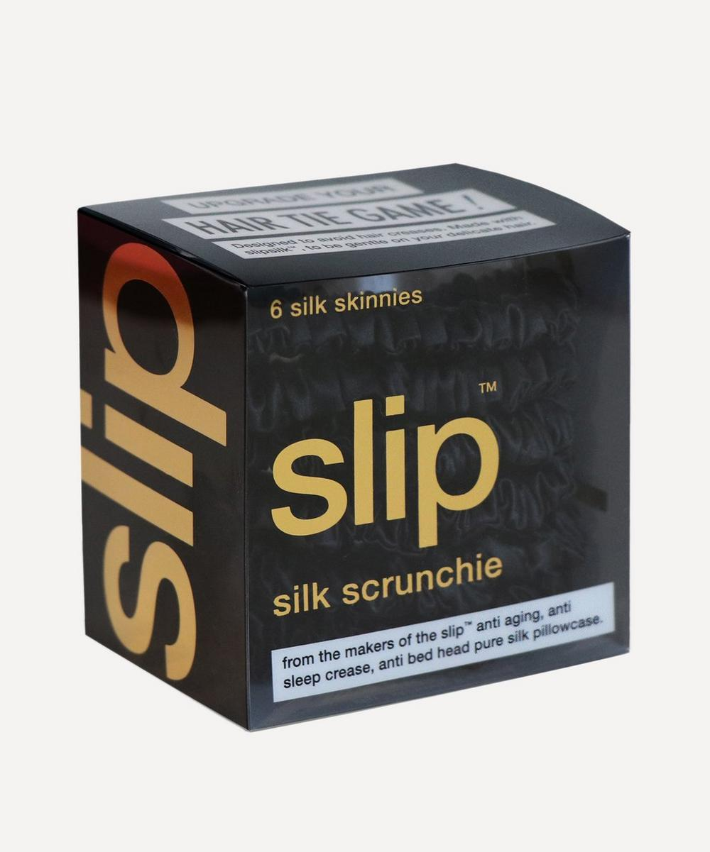 Slip - Skinny Silk Scrunchies Pack of 6