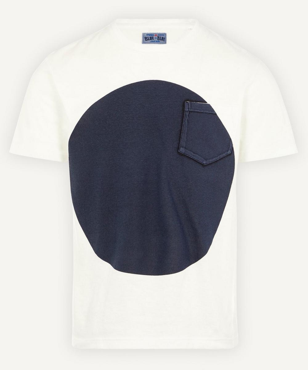 Blue Blue Japan - Circle Print Slub T-Shirt