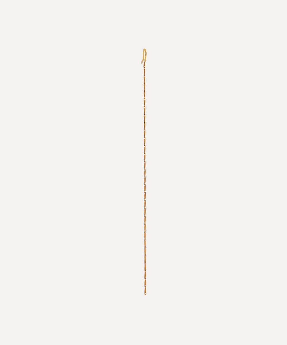Atelier VM - Gold Cashmere Single Chain Drop Earring