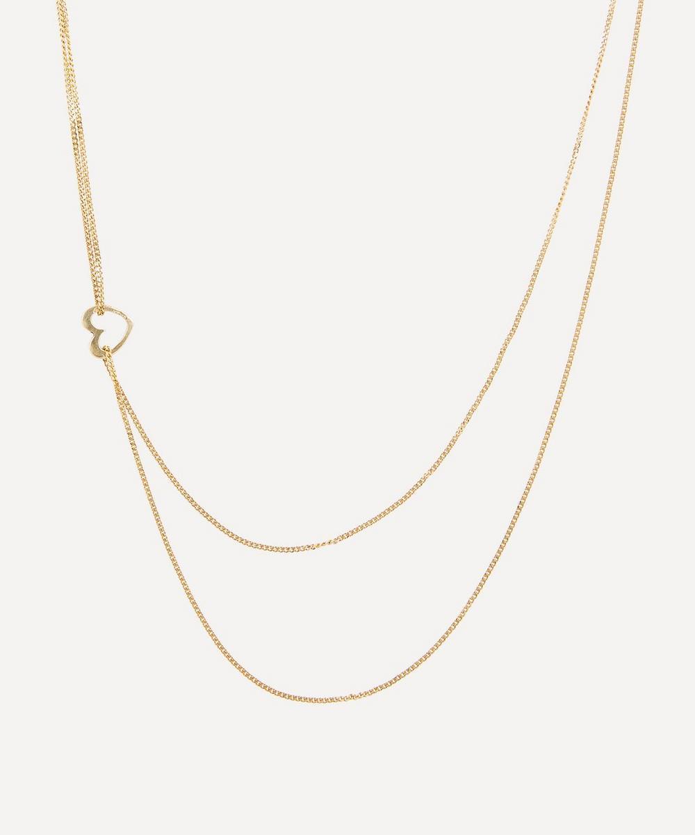 Atelier VM - Gold Darling Short Heart Pendant Necklace