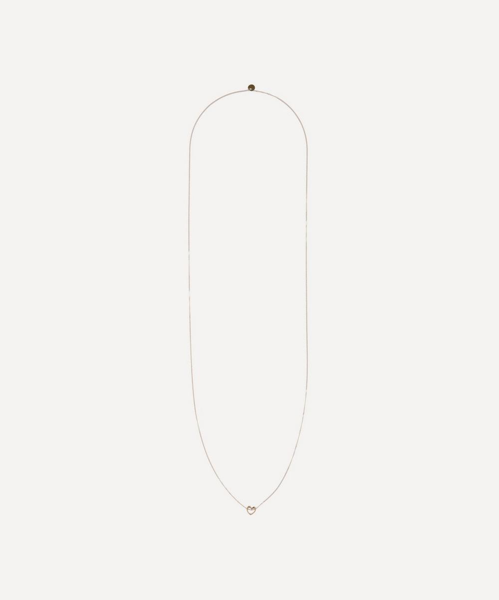 Atelier VM - Gold Darling Long Heart Pendant Necklace