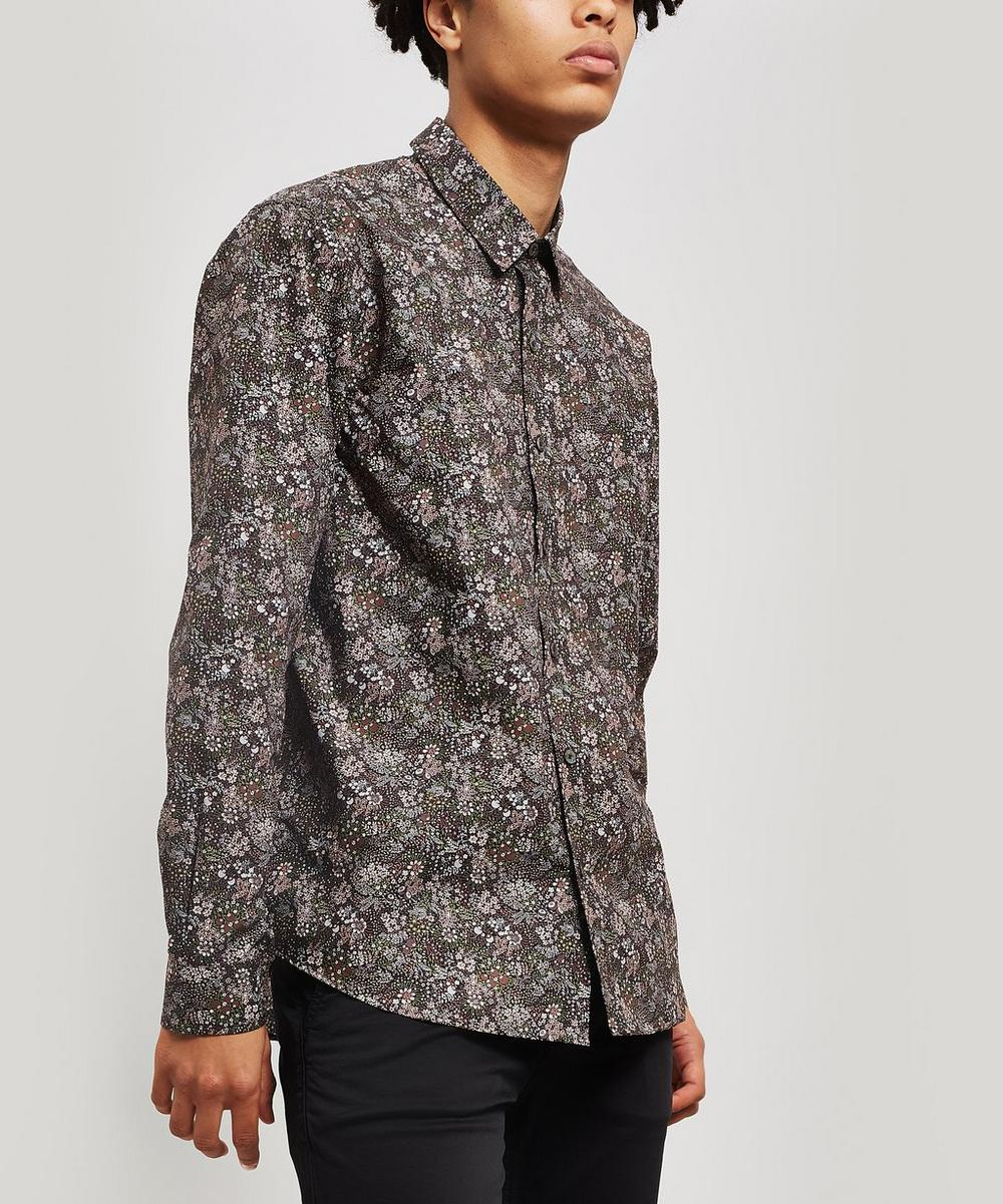 Liberty - Elderberry Poplin Lasenby Shirt