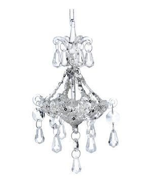 Small Glass Chandelier Ornament