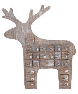 Reindeer Wooden Advent Calendar