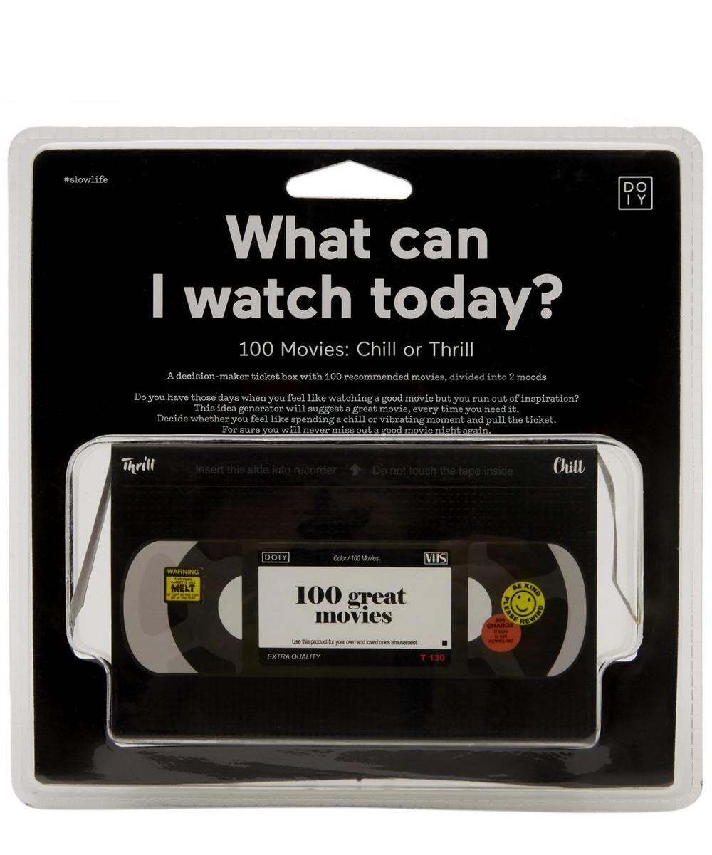 DOIY - What Can I Watch Today Decision-Maker Ticket Box