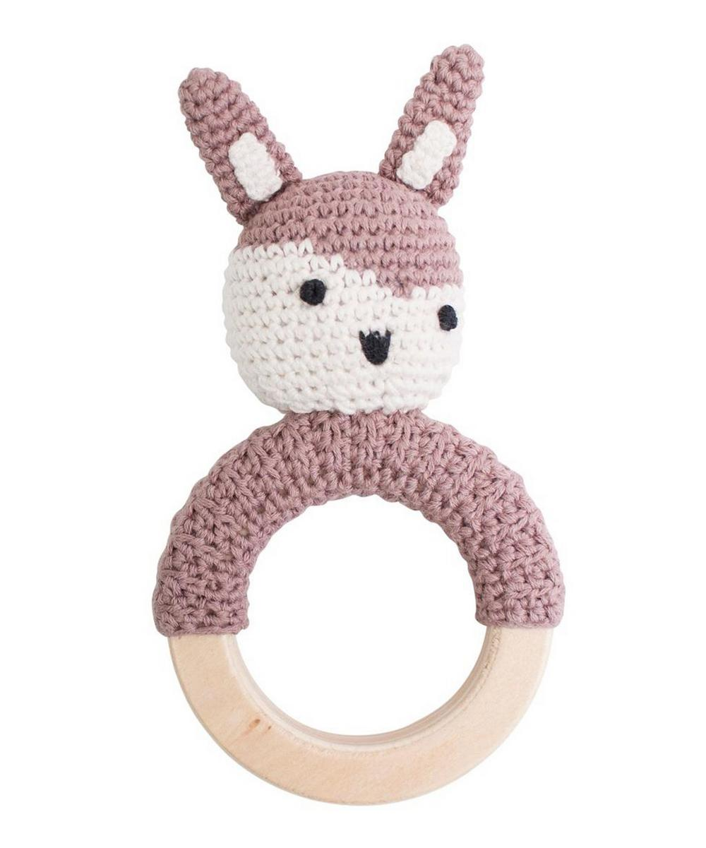 Sebra - Siggy the Rabbit Crochet Rattle