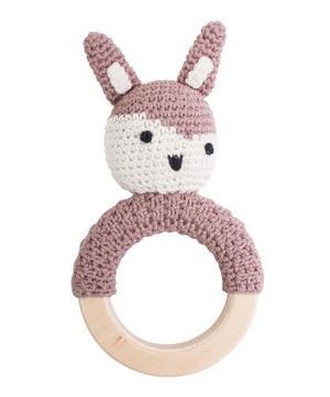 Siggy the Rabbit Crochet Rattle