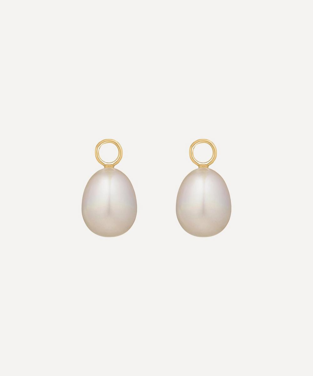 Annoushka - 18ct Gold Baroque Pearl Earring Drops