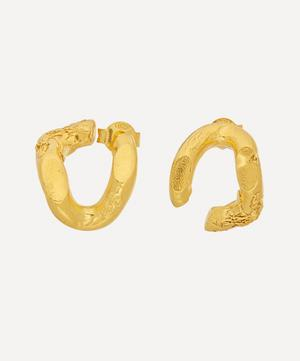 Gold-Plated The Flashback Twist Earrings