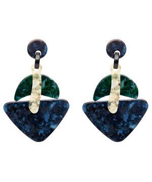 Ebony Drop Earrings