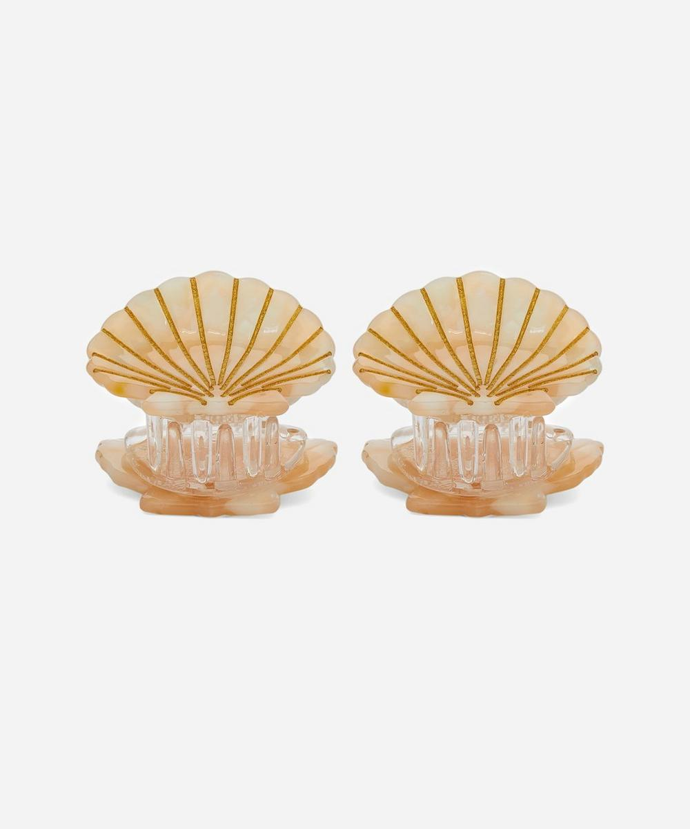 Valet - Ursula Shell Hair Clips Set of Two