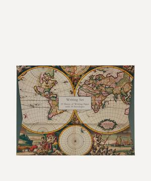 World Map Paper Writing Set of 10