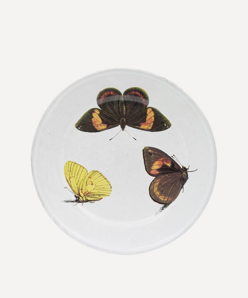Astier de Villatte - Three Butterflies Plate