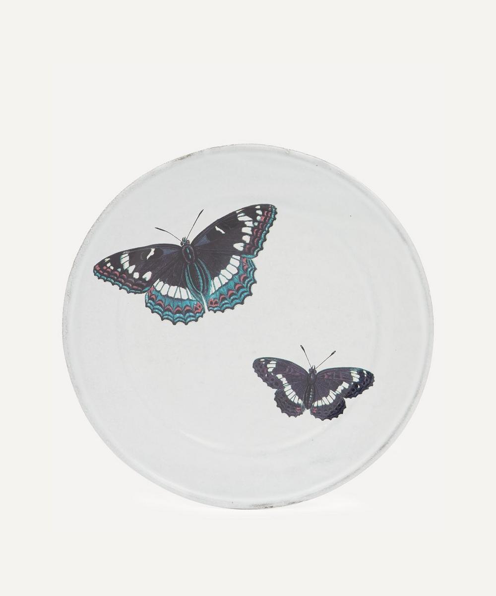 Astier de Villatte - Two Flying Butterflies Plate