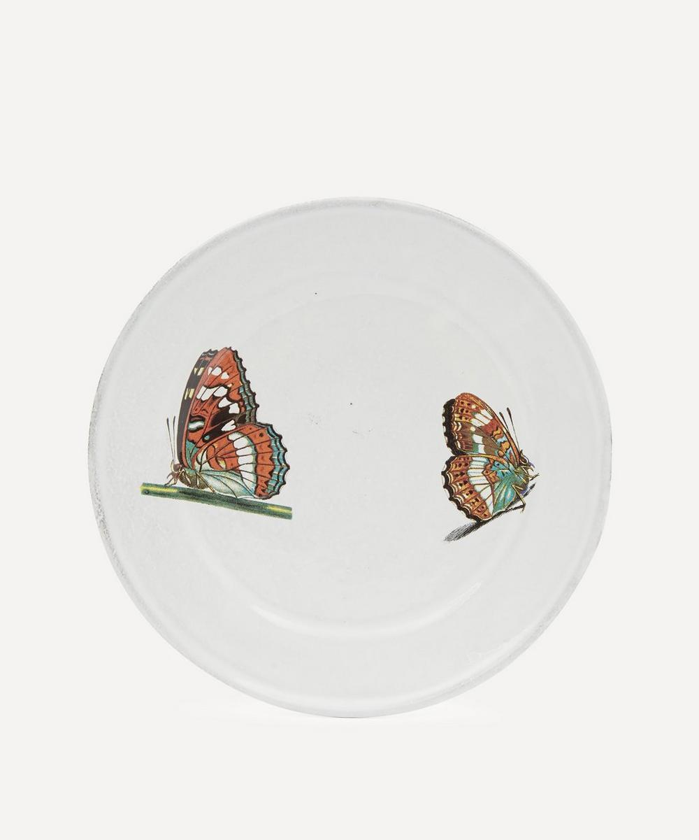 Astier de Villatte - Two Landed Butterflies Plate
