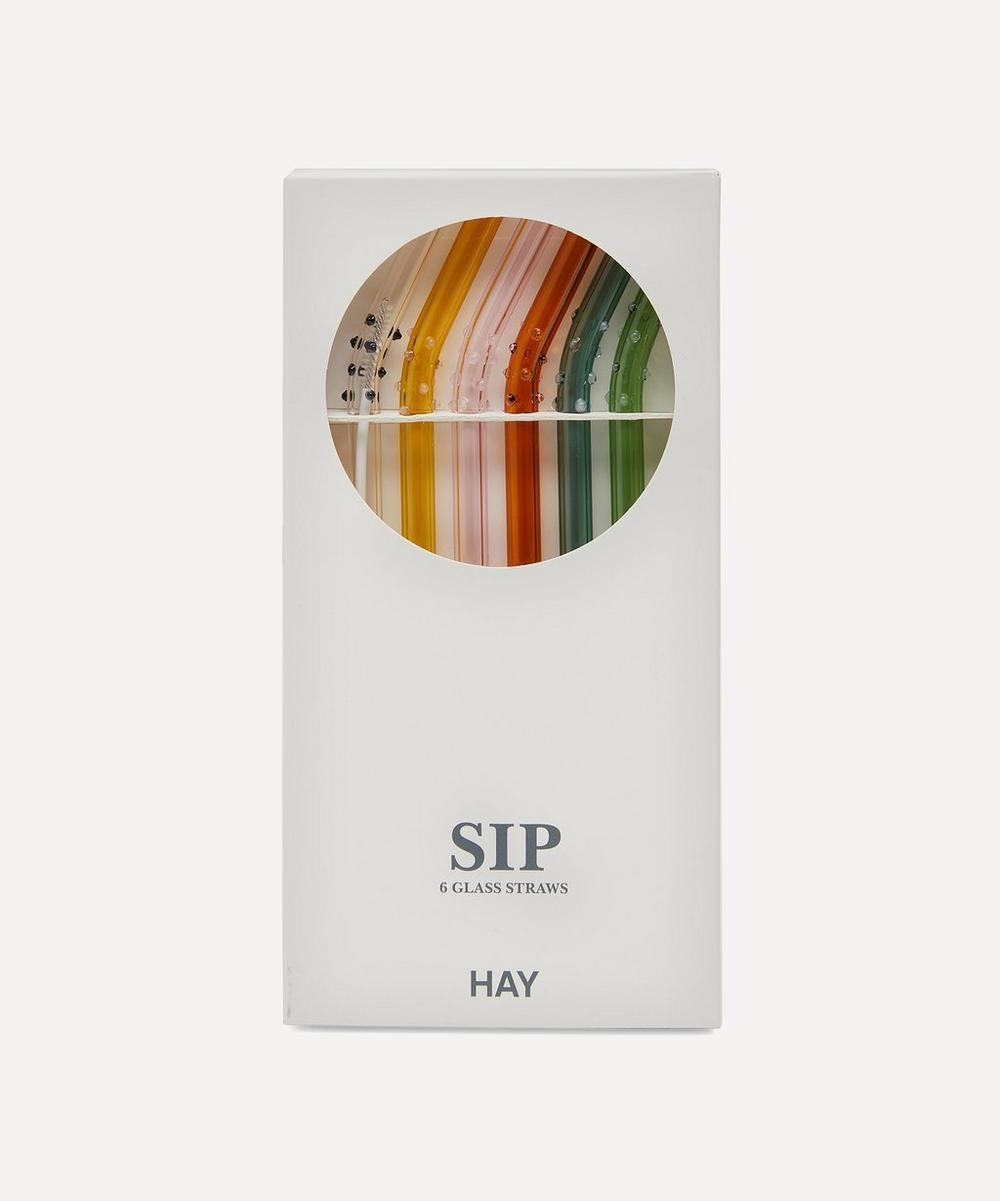 Hay - Sip Dot Straws Set of Six