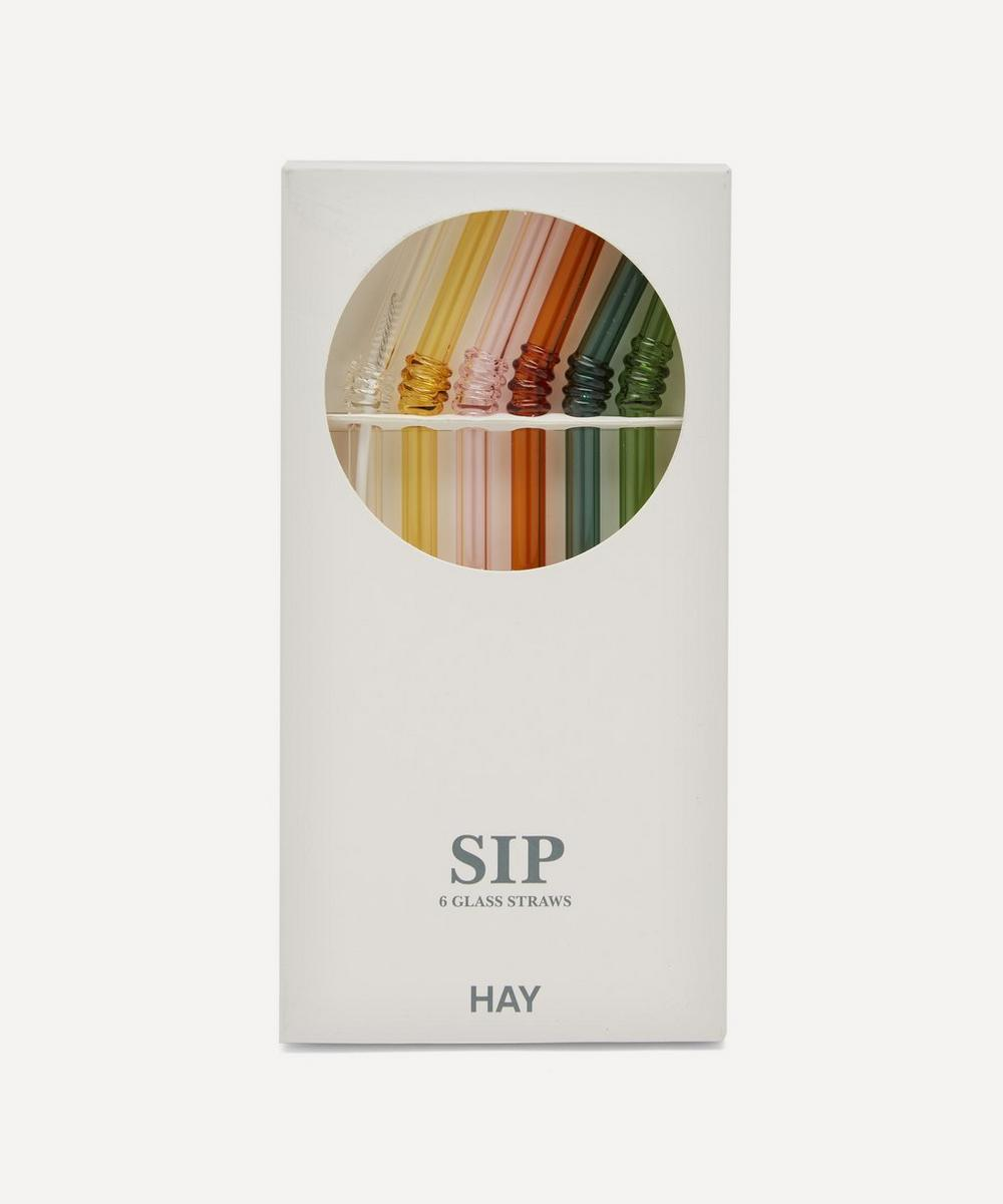 Hay - Sip Swirl Straws Set of Six
