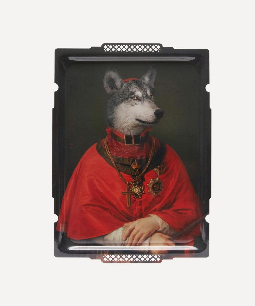 Ibride - Le Loup Decorative Tray