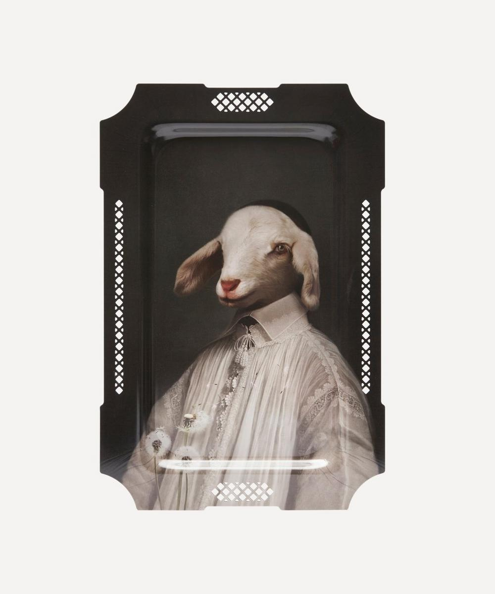 Ibride - L'Agneau Decorative Tray