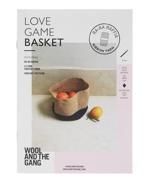 Love Game Basket Pattern Kit