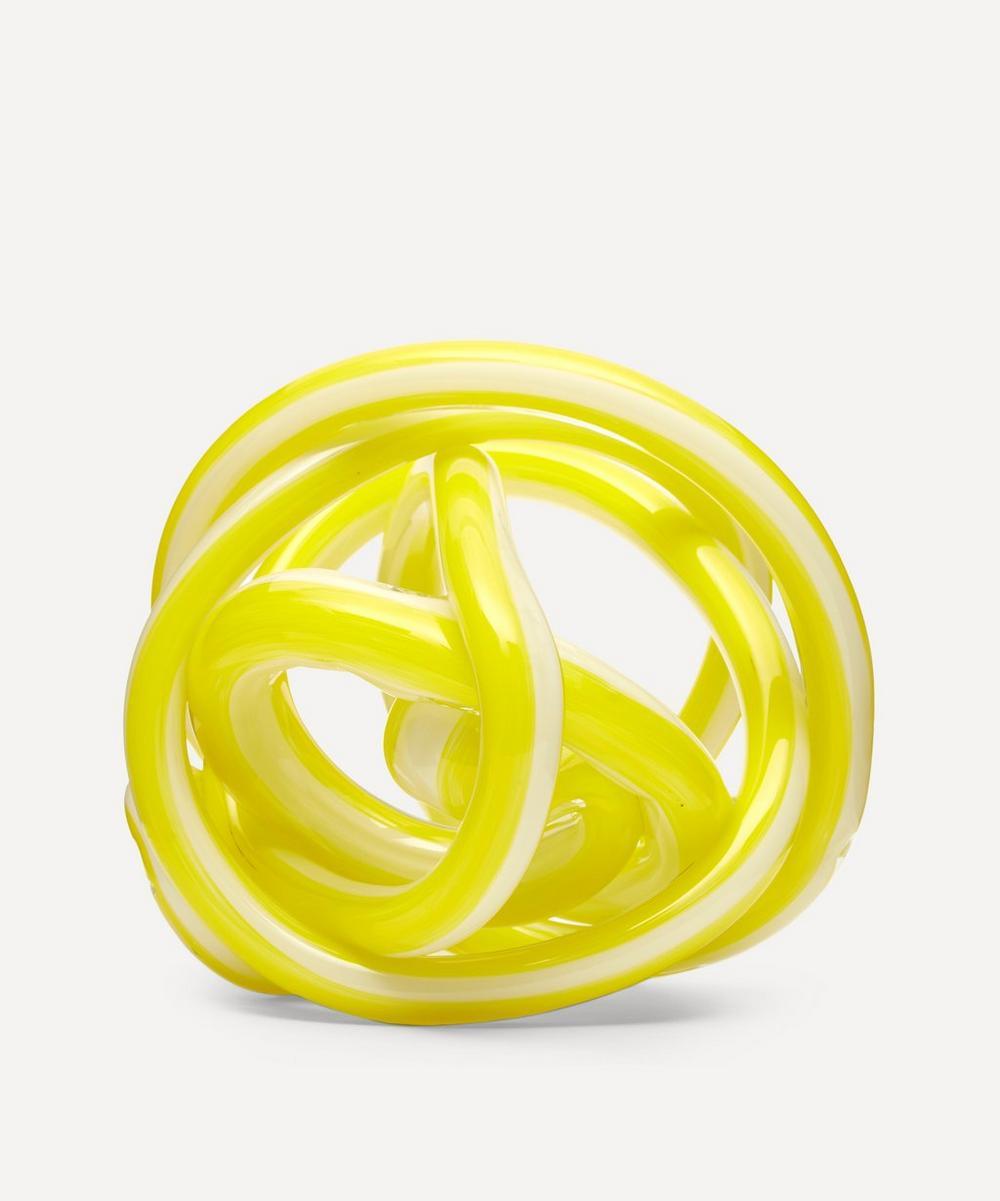 Hay - Medium Glass Knot Ornament