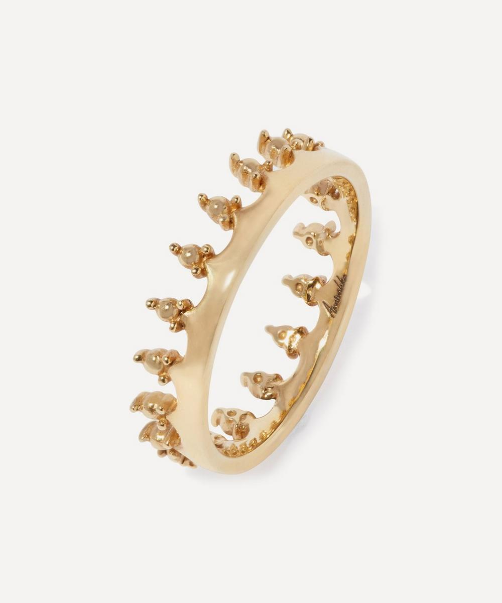 Annoushka - 18ct Gold Crown Ring