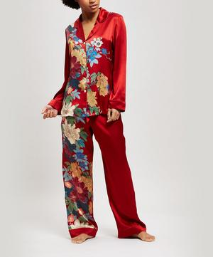 Sakura Silk Charmeuse Pyjama Set