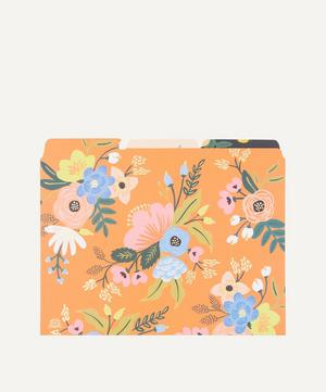 Lively Floral File Folder Set of Six