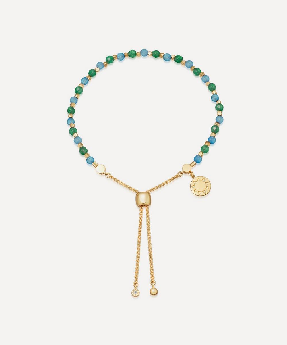 Astley Clarke - Gold Plated Vermeil Silver Astley Clarke x Theirworld Kula Gemstone Charity Bracelet