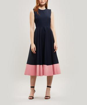 Athena Sleeveless Midi-Dress