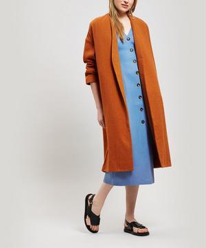 Julieta Oversized Wool-Blend Coat