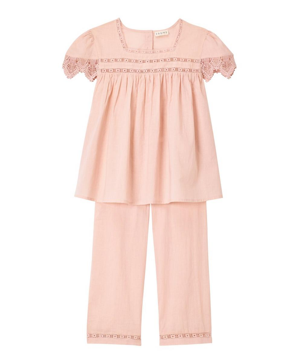 Faune - The Skylark Cotton Pyjama Set 2-8 Years