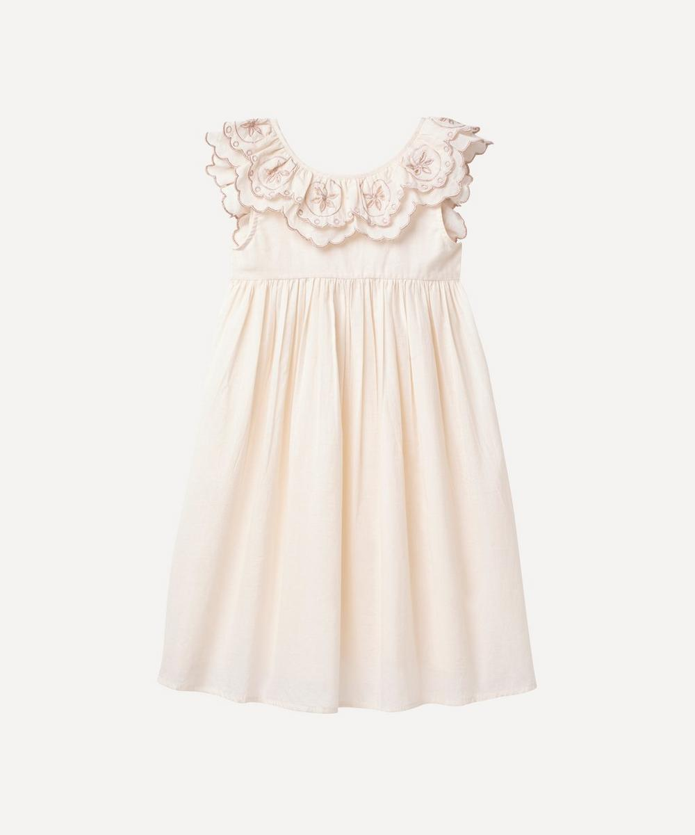 Faune - The Blush Embroidered Wren Cotton Nightdress 2-8 Years
