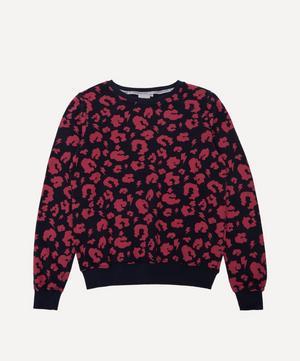 Adult Leopard Print Lightning Bolt Sweatshirt XS-XL