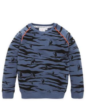 Tiger Stripe Sweatshirt 1-6 Years