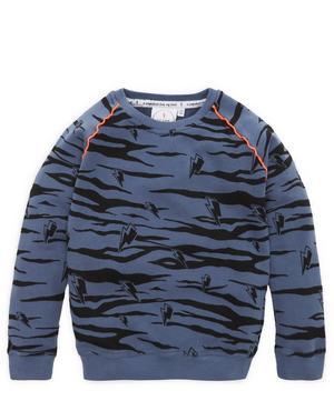 Tiger Stripe Sweatshirt 1-6 Years
