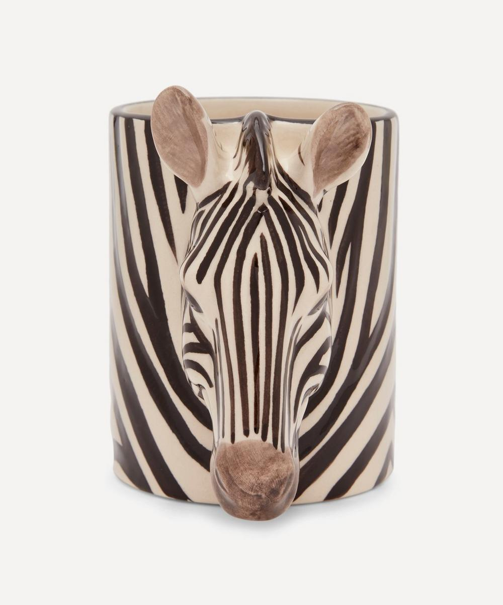 Quail - Zebra Pencil Pot