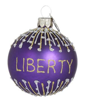 Mouth-Blown Liberty Glass Bauble
