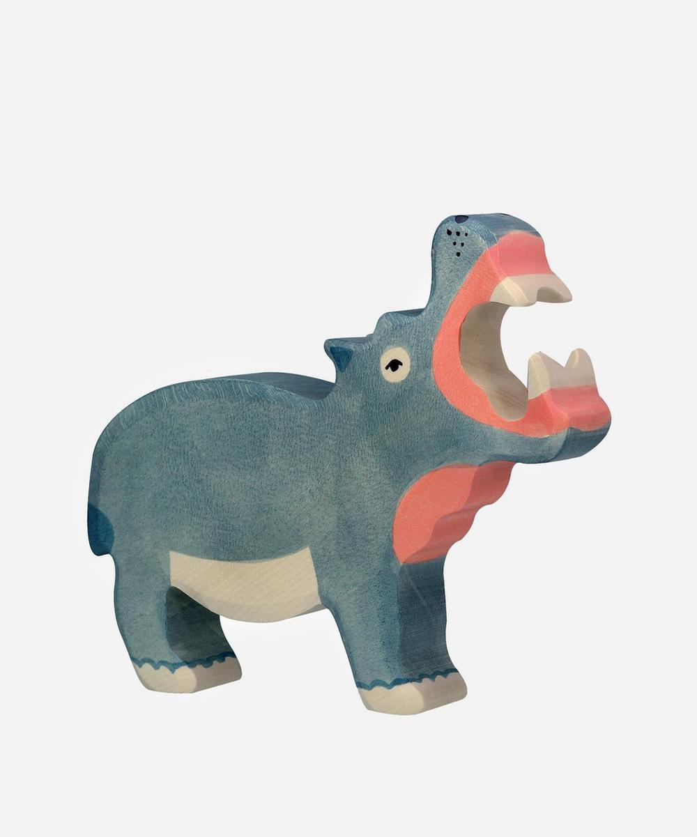 Holztiger - Hippopotamus Toy