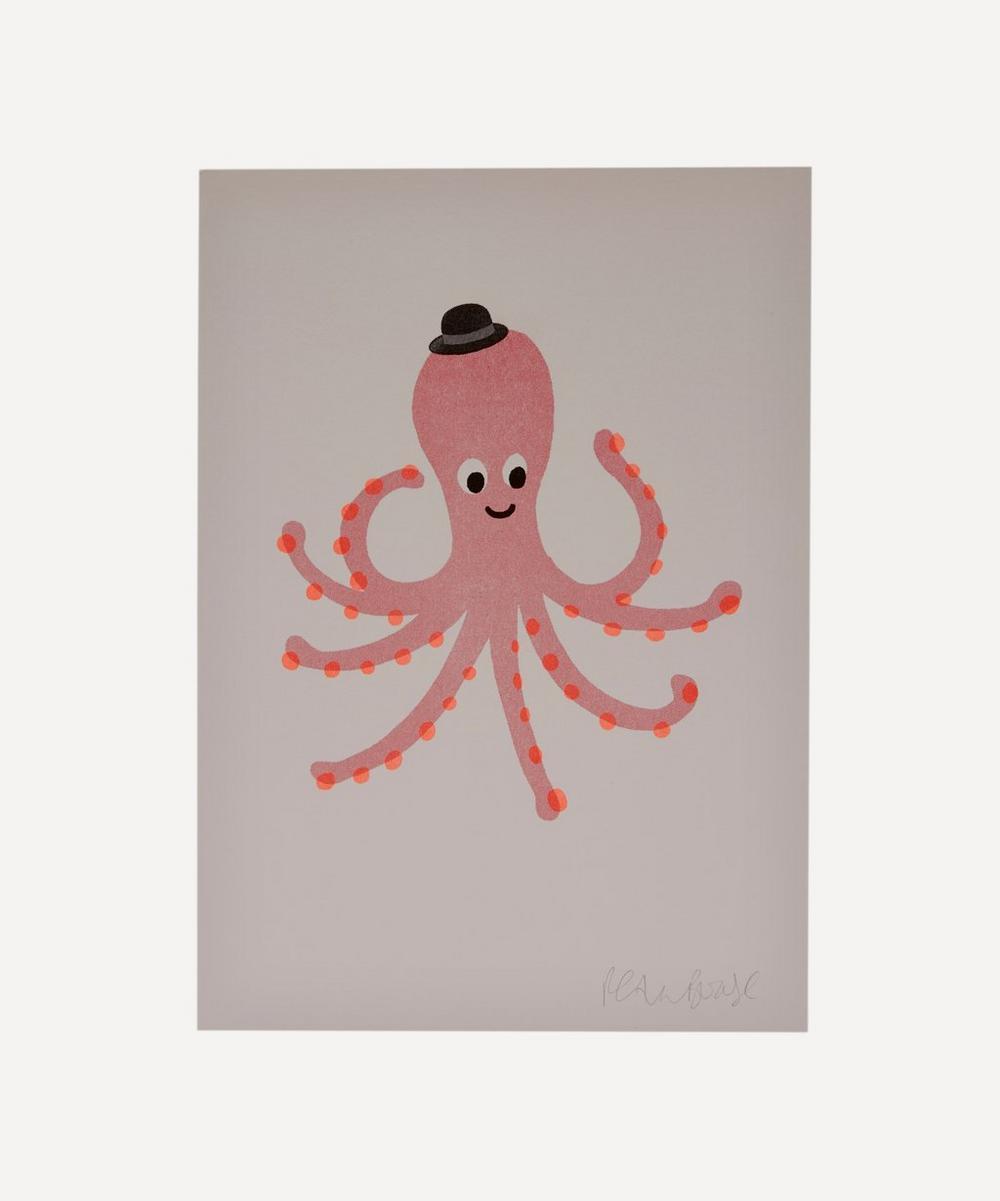 Petra Boase - Octopus Risograph Print