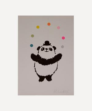 Panda Risograph Print