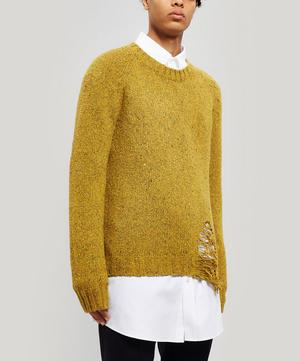 Destroyed Hem Sweater