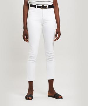 Harlow High-Rise Slim-Leg Jeans